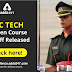 SSC Tech 54 Men course Cut Off Released: Check here!
