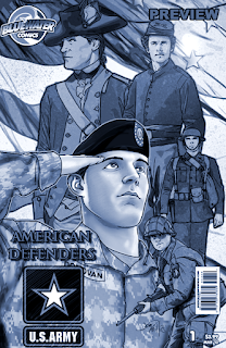 The American Army - Cover