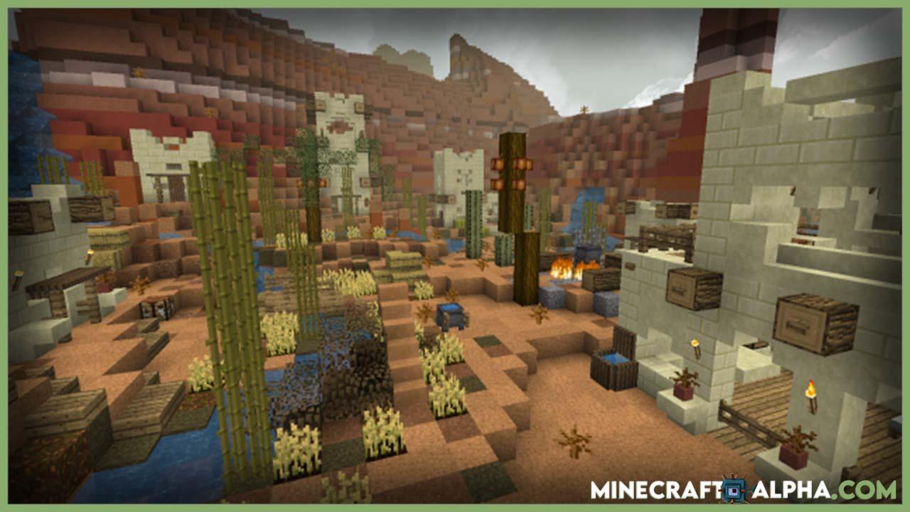 Minecraft BetterVanillaBuilding Texture Pack Images
