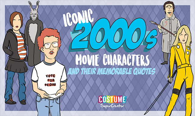 Iconic 2000's Movie Characters