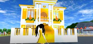 ID Rumah Berlapis Emas Di Sakura School Simulator