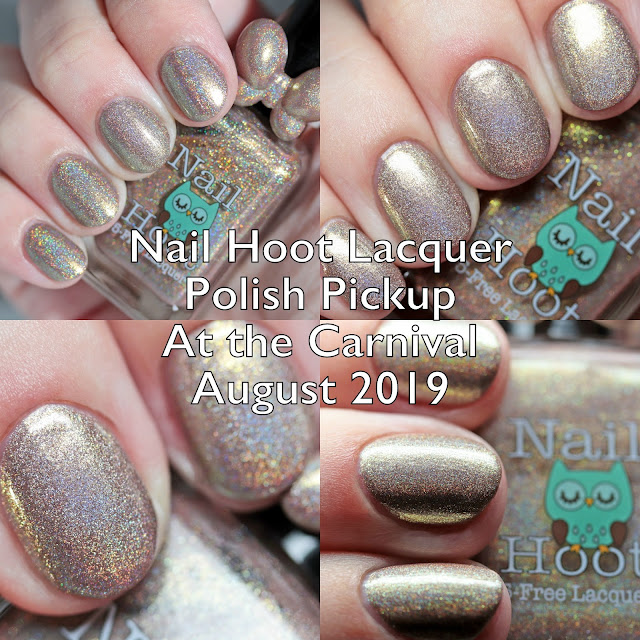 Nail Hoot Indie Lacquers Polish Pickup At the Carnival August 2019