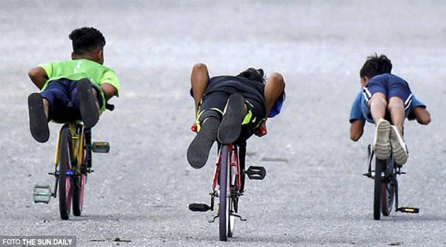 Anak main basikal lajak, ibu bapa boleh didenda RM1,000, penjara 12 bulan