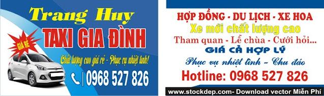 Dịch vụ taxi gia đình giá rẻ