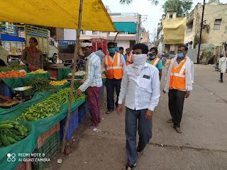 गंदगी भारत छोड़ो अभियान के अंतर्गत नागरिकों को किया जागरूक