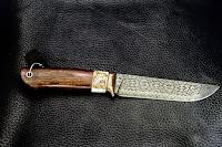 Мастерская Русский Топор - нож Лев