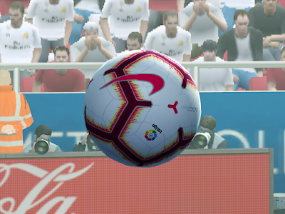 PES 2013 Balls Nike Merlin LaLiga 2018/2019 by M4rcelo
