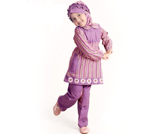 21 Model Baju Muslim Anak Perempuan Terbaru 2019 Modis Simple dan Syar i c34e069879