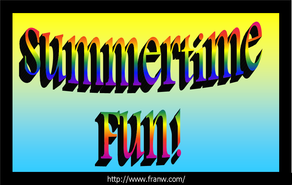 Summertime Fun Collection!