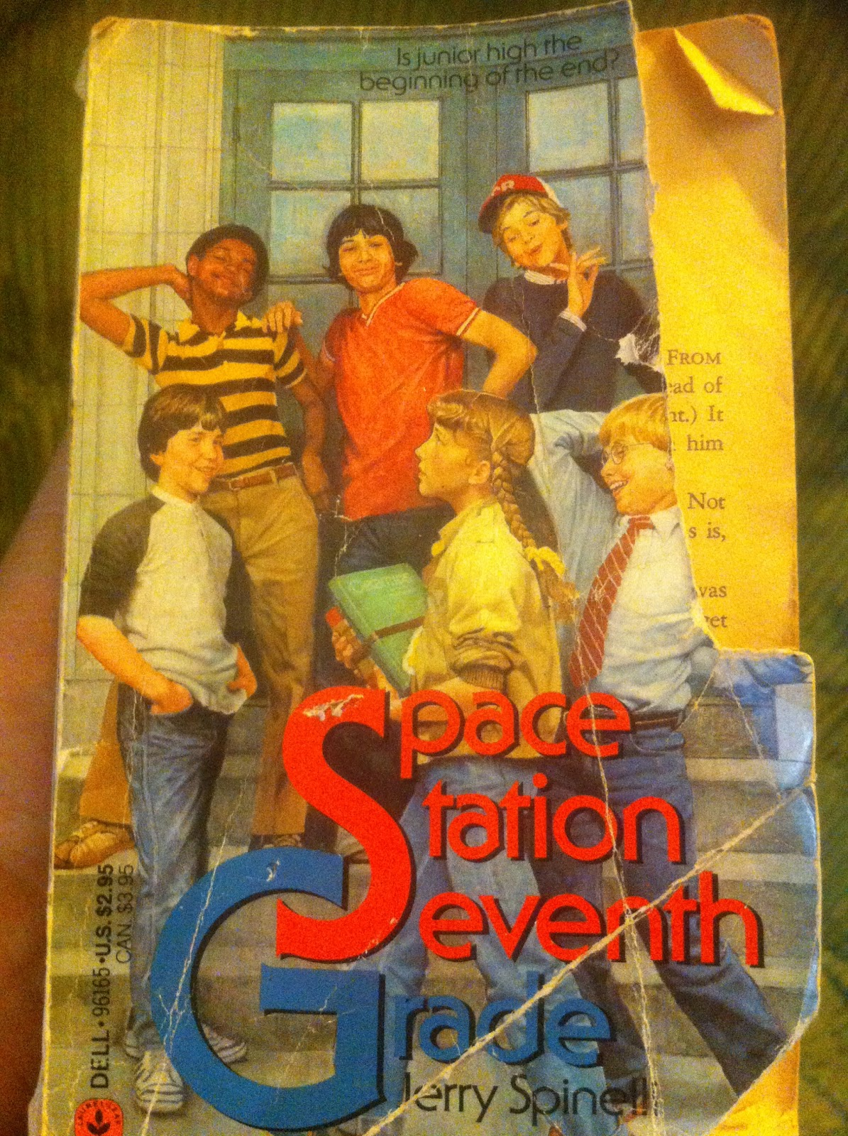 Retro Ya Space Station Seventh Grade By Jerry Spinelli