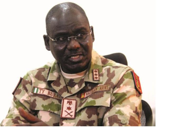 Terrorists will be dishonoured in 2021 – Head of the Army, Buratai tells Nigerians