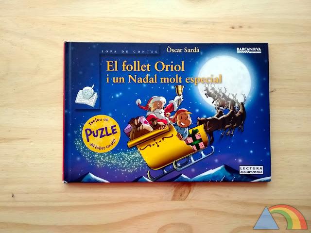 Portada del cuento El follet Oriol i un Nadal molt especial