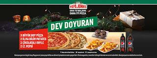 papa john's kampanya ve fırsatları menü fiyat listesi 2021 online sipariş dev doyuran kampanya