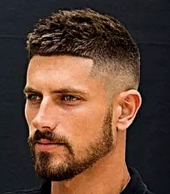 35 Modern Haircut For Men in 2020 - French crop haircut
