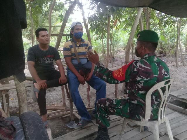 Wujud Kedekatan Personel Jajaran Kodim 0208/Asahan Laksanakan Komunikasi Sosial Bersama Warga Binaan