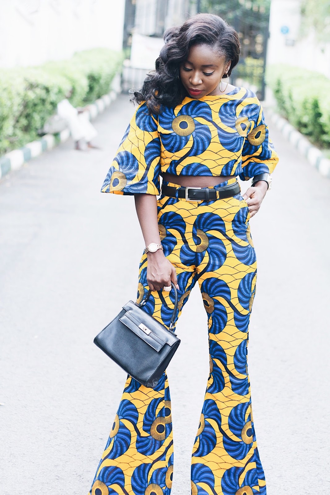 Ankara outfit to try this summer