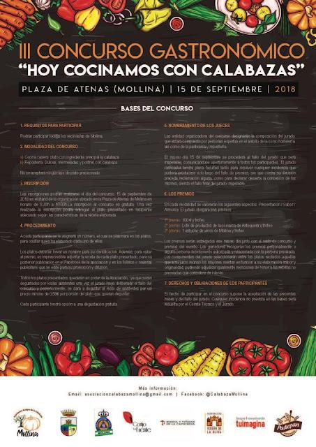 III Concurso de Cocina con Calabazas de Mollina