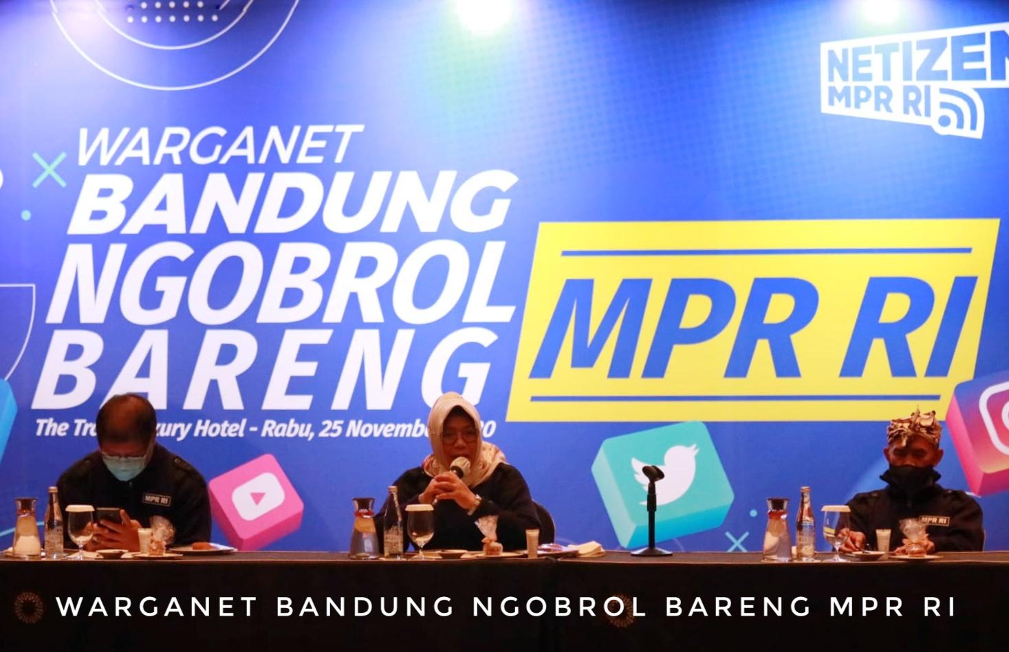 Warganet Bandung Ngobrol Bareng MPR RI
