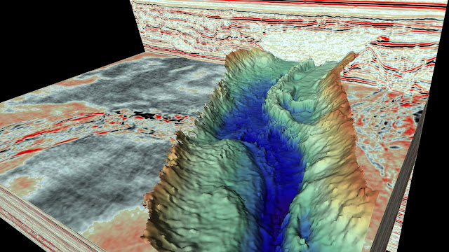 'MRI' scan reveals spectacular ice age landscapes beneath the North Sea