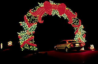 Georgia history historic sites points of interest - Callaway gardens christmas lights ...