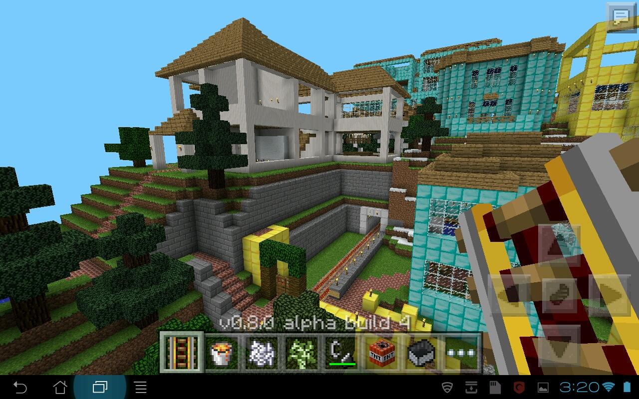Minecraft PE Building Ideas: The Mayor's Mansion