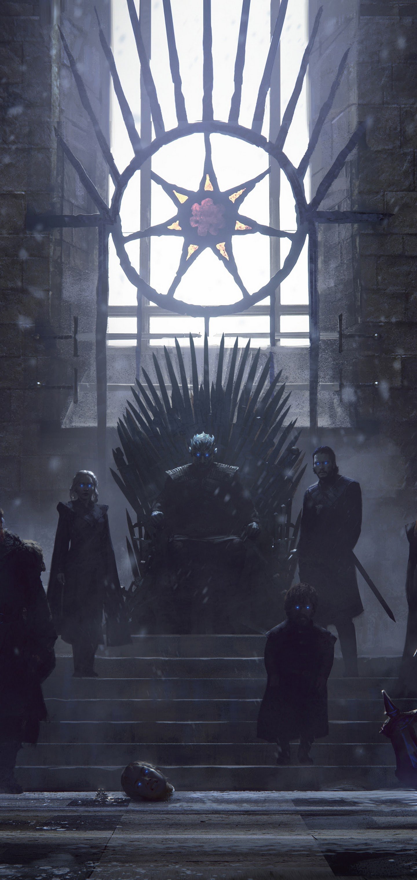 Game Of Thrones Iron Throne Characters 4k Wallpaper 70