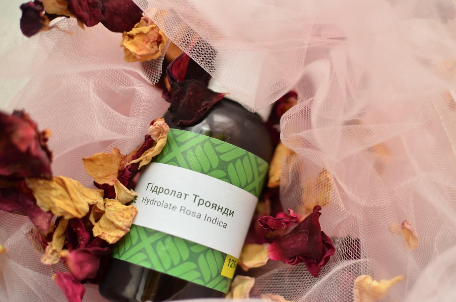 "THE TRUE ESSENCE LTD  Hydrolate Rosa Indica\ ""Натуральные эссенции""  Гидролат розы"