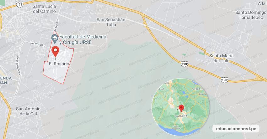 Temblor en México de Magnitud 4.2 (Hoy Jueves 08 Julio 2021) Sismo - Epicentro - Fracc. El Rosario (Unidad Habitacional) San Sebastián Tutla - Oaxaca - OAX. - SSN - www.ssn.unam.mx