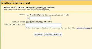 ricevere email su altro account