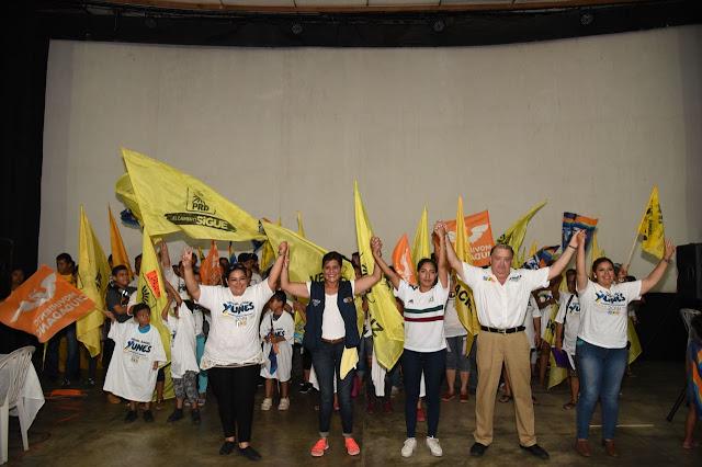 Renuncia estructura del Partido Verde y se suma a Mariely Manterola