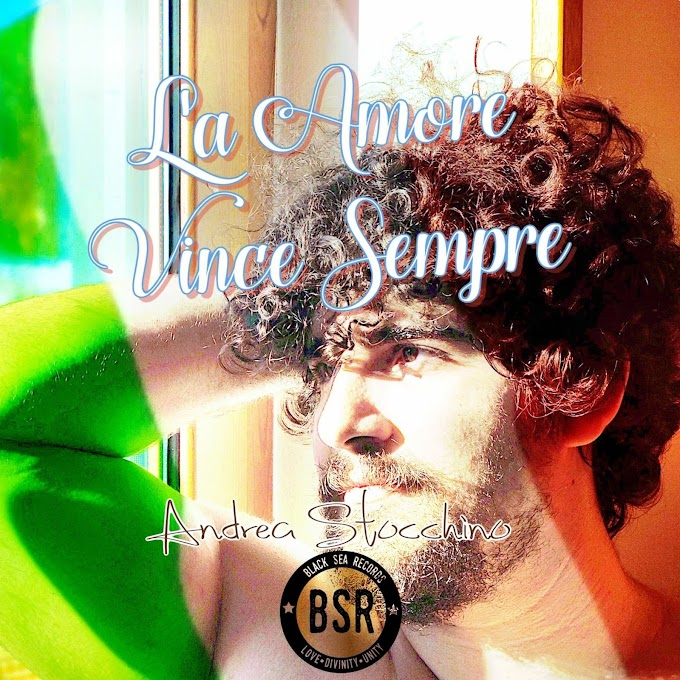 """Andrea Stocchino publishes his album with Best Italian songs """"L'a Amore Vince Sempre"""" with BSR"""