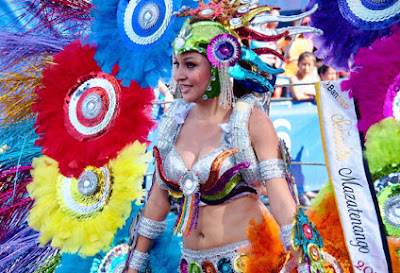 Inicia el Carnaval Mazateco
