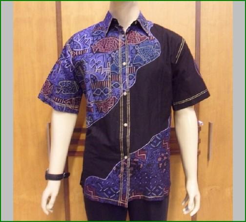 Batik Untuk Pria Remaja: Baju Batik Terbaru Muslim Couple Pria Wanita, Model Foto