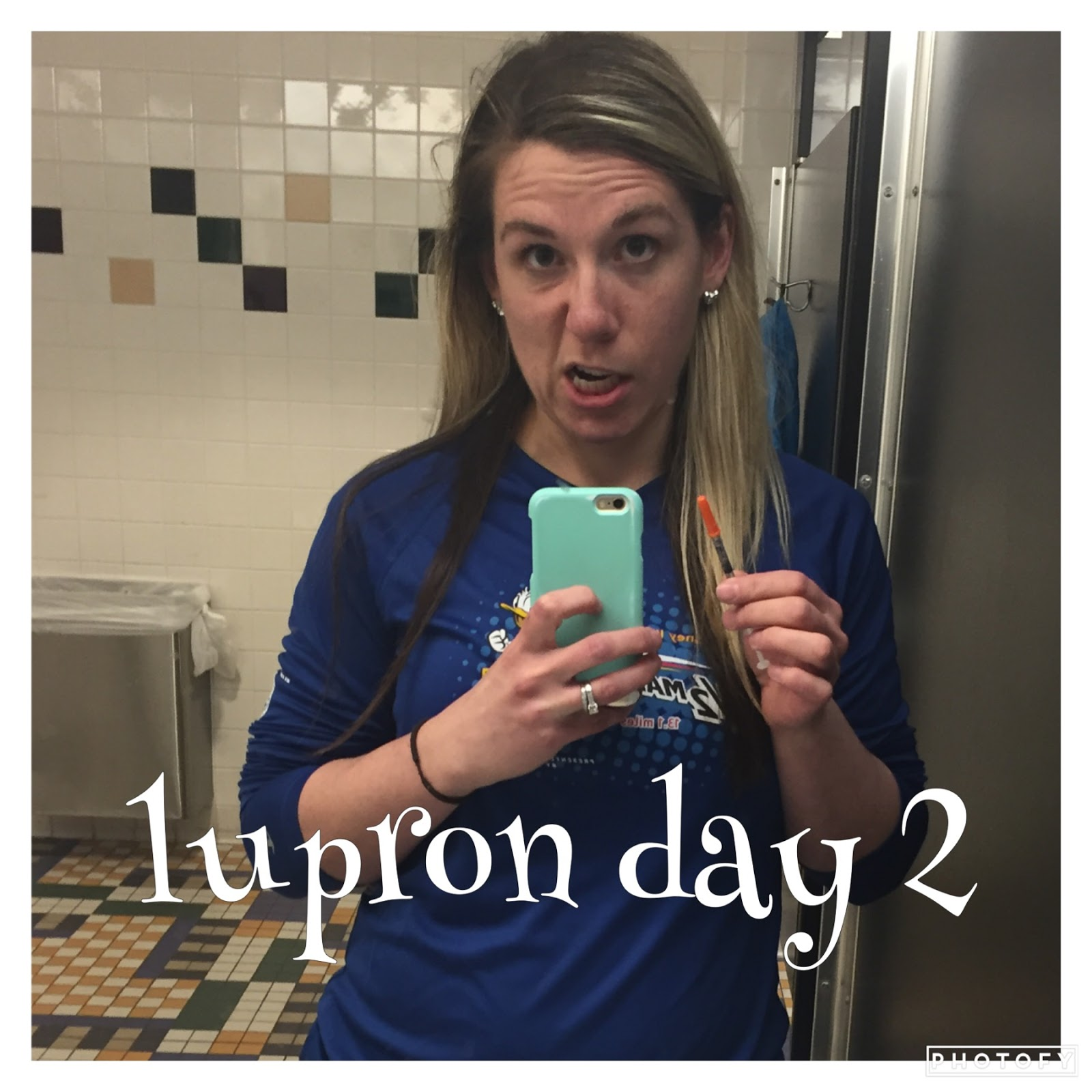 Lupron Day 2 IVF Journey