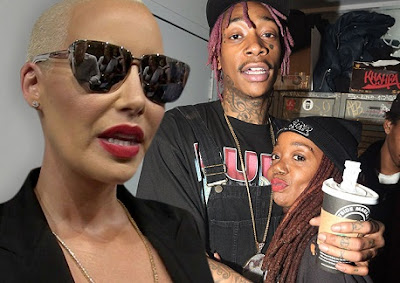 It's Getting Messy! Amber Rose To Get Restraining Order Against Wiz's Mom