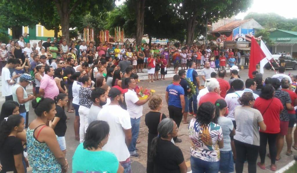 Idosa vítima de coronavírus em Alter do Chão teve velório comunitário; veja fotos