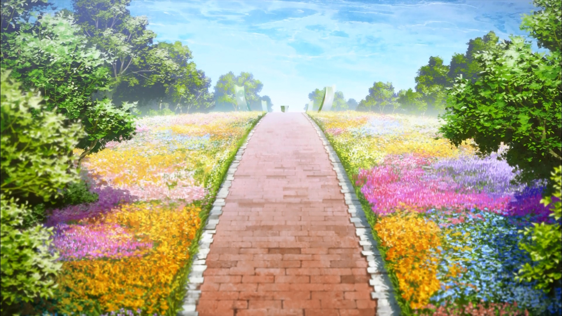Anime Landscape: Sword Art Online TOP 10 Backgrounds