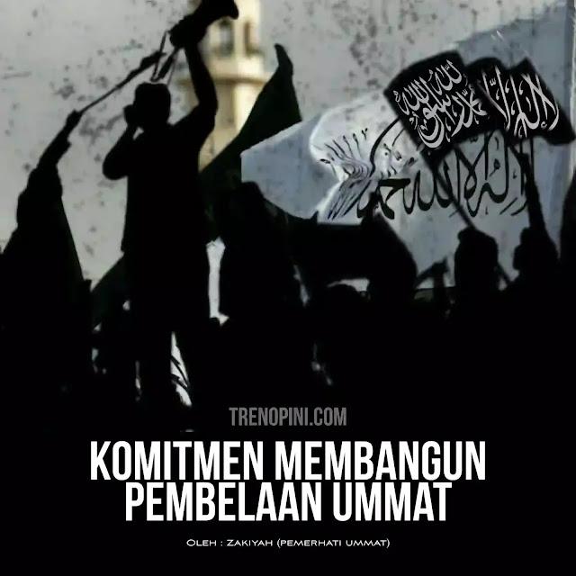 Ahad 30 Mei 2021 hari yang tak terlupakan karena pada hari ini berkumpul para tokoh ulama, cendikiawan, ahli hukum, pengusaha, ustadz dan ustadzah, dari aceh hingga papua, secara virtual membahas komitmen membangun pembelaan terhadap ummat.Saat ini kedzaliman terhadap ummat sudah nampak didepan mata, mulai dari persekusi terhadap ulama' yang menyerukan kebenaran, ormas yang mengajarkan kebaikan, kebijakan yang merugikan kaum muslimin ( Aturan yang tercantum dalam Surat Keputusan Bersama (SKB) 3 Menteri itu menyatakan, pemda maupun sekolah tidak diperbolehkan untuk mewajibkan atau melarang murid mengenakan seragam beratribut agama) dan masih banyak kedzaliman lain yang bisa disaksikan oleh ummat dibelahan dunia yang lain, seperti bombardir israel terhadap warga Palestina, kekejaman rezim terhadap muslim Uighur, Rohingnya dan lainnya.