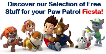 Paw Patrol Free Printable Kit