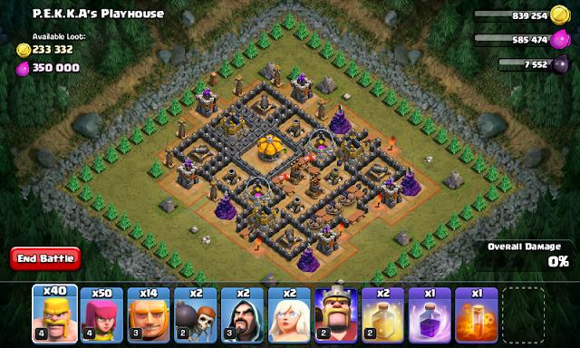 Clash of Clans Mod Show Hidden Traps