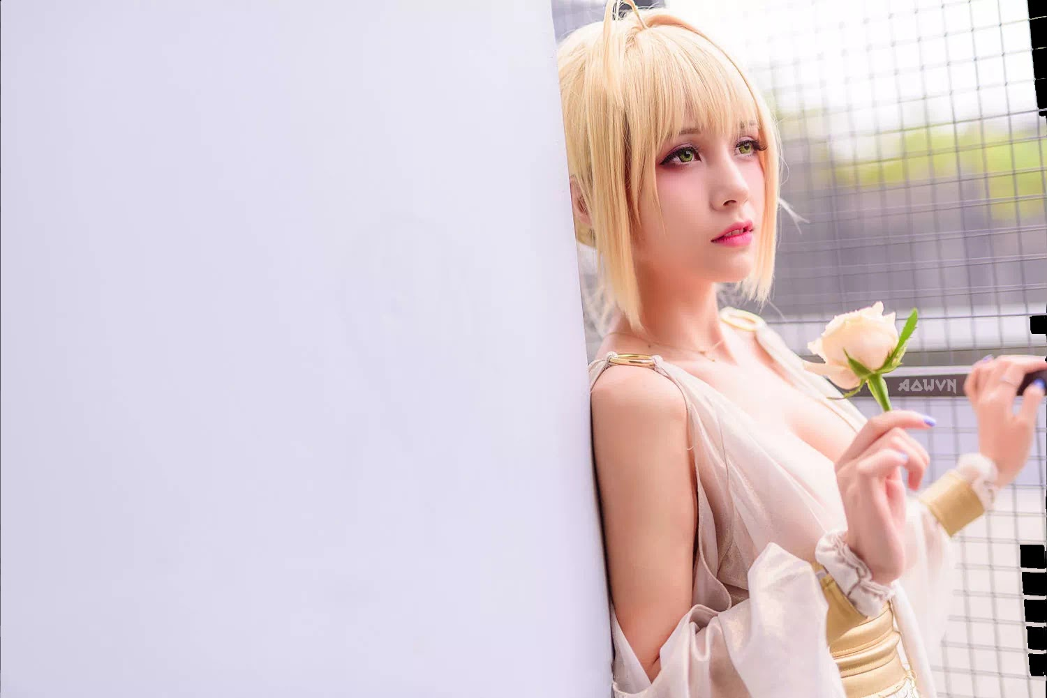 AowVN.org minz%2B%252827%2529 - [ Cosplay ] Nero - Saber anime Fate by Xia Mei Jiang tuyệt đẹp | AowVN Wallpapers