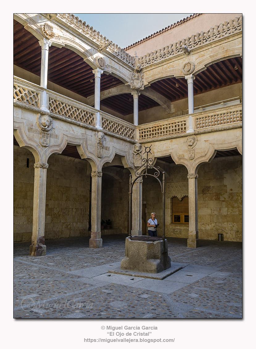 Casa de las Conchas, Salamanca, Claustro.
