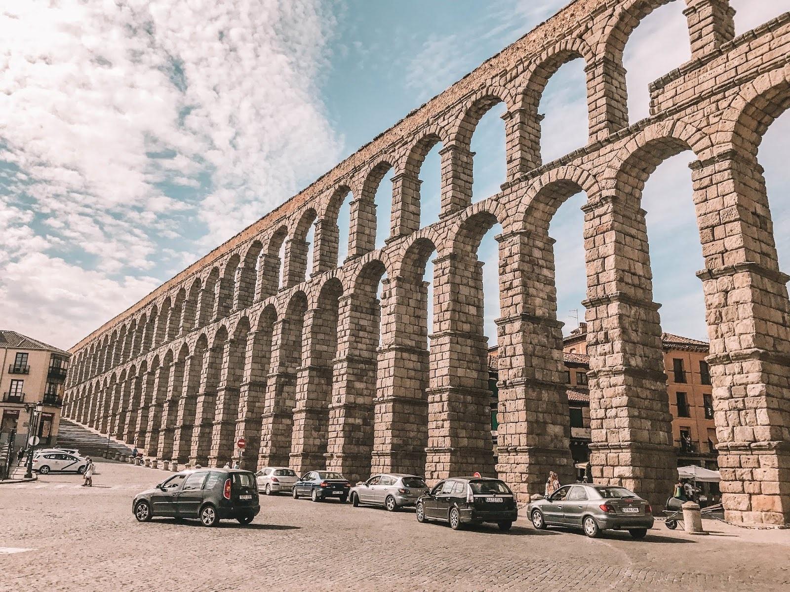 Roman Aqueduct Segovia Spain