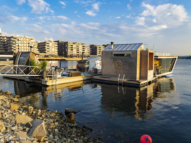 Saunas Flotantes en el fiordo de Oslo - Noruega, por El Guisante Verde Project
