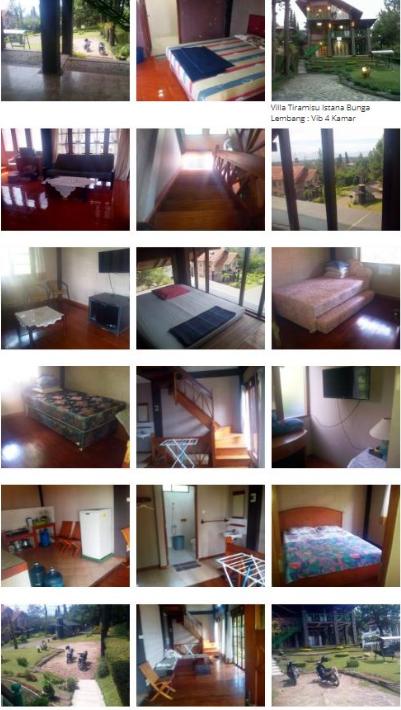 Villa Tiramisu Lembang - Villa 4 Kamar