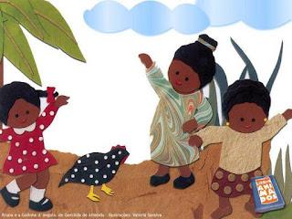 História Bruna e a Galinha D'angola