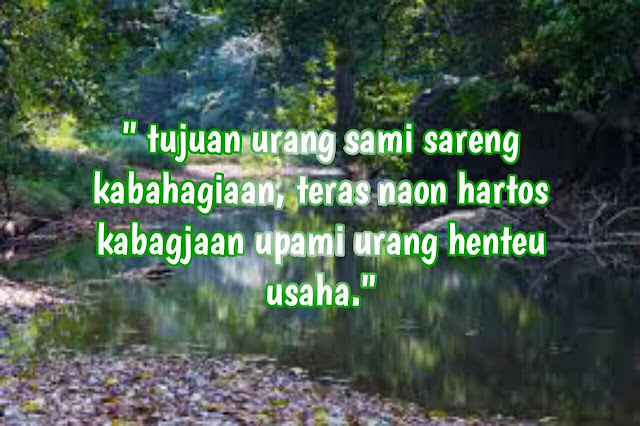 kata-kata mutiara bahasa sunda kahirupan
