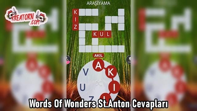 Words Of Wonders St.Anton Cevapları