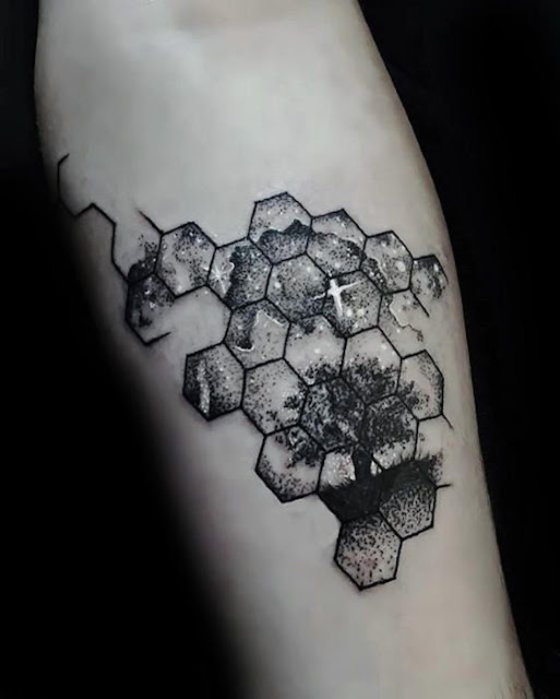 Gorgeous Geometric Tattoos For Men