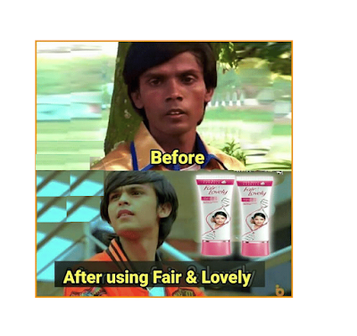 Fair and Lovely Funny Images